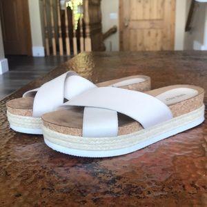 {Nine West} Platform Sandals. Size 7.5. EUC.